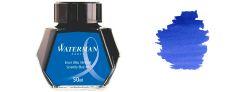 Waterman Inchiostro per stilografica - Flacone 50 ml - Serenity Blu