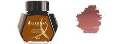 Waterman Inchiostro per stilografica - Flacone 50 ml - Absolute Brown