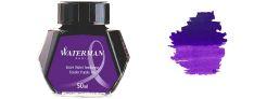 Waterman Inchiostro per stilografica - Flacone 50 ml - Tender Purple