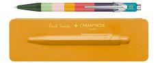Caran d'Ache 849 Paul Smith Edition - Penna a Sfera in alluminio - Custodia Orange