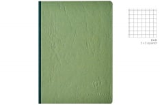 Clairefontaine Age Bag - Quadretto - Quaderno Brossurato Alto Spessore - Verde