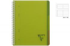 Clairefontaine Linicolor Evolutiv Book - Quaderno a spirale - Verde - A4+