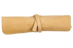 Clairefontaine Flying Spirit - Portapenne in pelle Roll - Beige