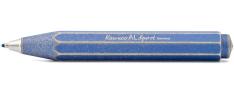 Kaweco AL Sport Penna a Sfera - Corpo in alluminio - Stonewashed Blu