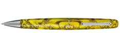 Montegrappa Elmo 01 Fantasy Blooms - Iris Yellow - Penna a Sfera
