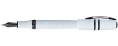 Visconti Homo Sapiens Lava - Ash White - Penna Stilografica - Pennino Oro 14 k