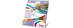 Pentel Water Colours Pencils - Matite Colorate Acquerellabili confezione da 24
