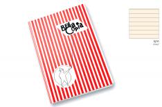 Pigna Quaderno Rilegato Bella Copia - Rigo carta avorio