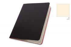 Pigna Quaderno Cucito Nero Oriente A5 - Copertina martellata - Carta Avorio
