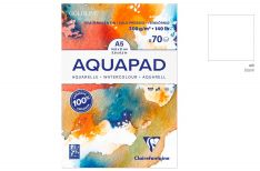 Clairefontaine Goldline Aquapad - Blocco per disegno ad acquerello
