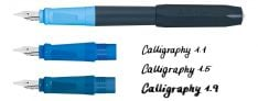 Kaweco Perkeo Calligraphy Set Blue - Penna Calligrafica con tre pennini