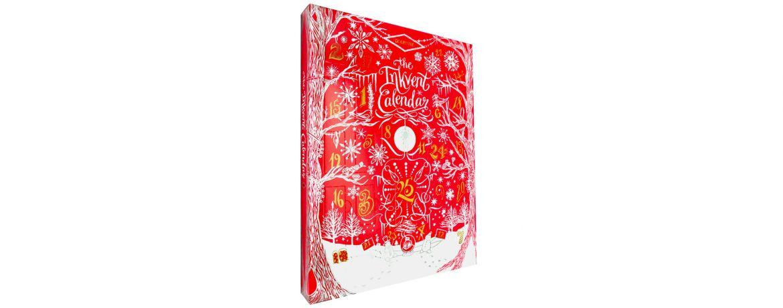 Diamine 2021 Ink-vent Calendar Red Edition - Calendario dell'Avvento con Inchiostri