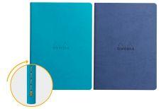 Rhodia Quaderno Rilegato Ewn Spine Notebooks Turchese o Zaffiro