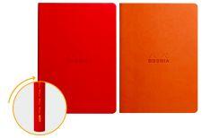 Rhodia Quaderno Rilegato Ewn Spine Notebooks Papavero o Tangerine
