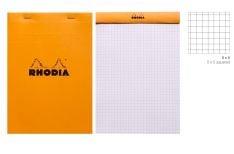 Rhodia Blocco Spillato Orange Giant Pad Quadretto