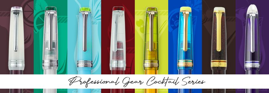 Professional Gear Cocktail Series