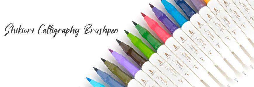 Shikiori Calligraphy Brushpen