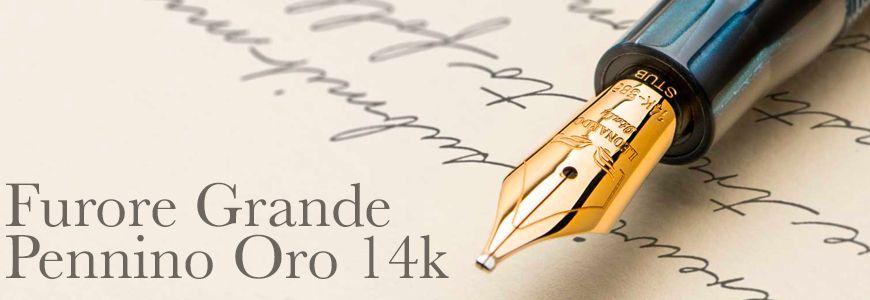 Furore Grande Pennino Oro 14k