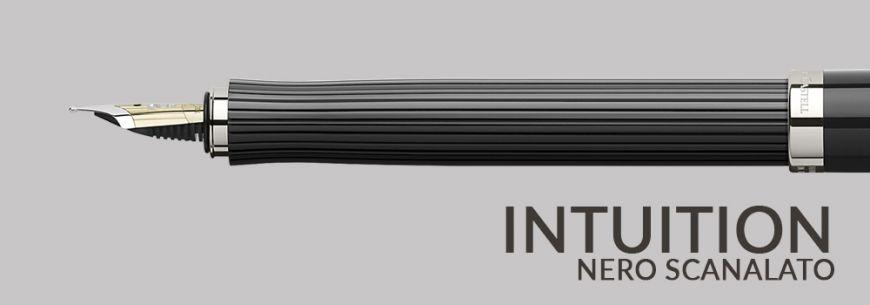 Intuition Nero Scanalato